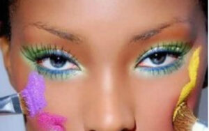 makeup multicolor