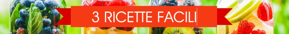 ricette detox water